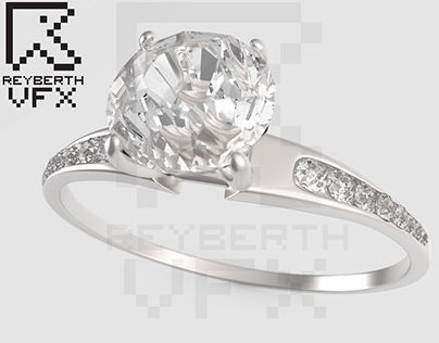 """Check out new work on my @Behance portfolio: """"Anillo de Diamantes, realizado en 3D."""" http://be.net/gallery/53120861/Anillo-de-Diamantes-realizado-en-3D"""