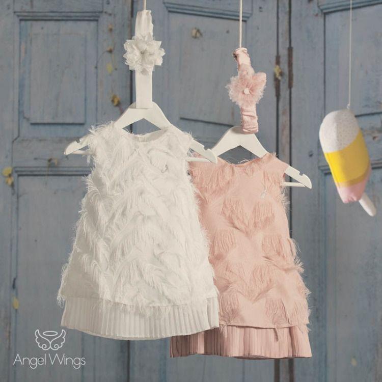7702453196b5 Φόρεμα Vionet της Angel Wings Η Συλλογή Βαπτιστικών της Angel Wings για το  Καλοκαίρι του 2019