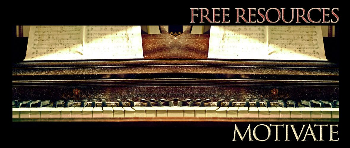 FREE Piano Resources (FREE Piano music, FREE Piano Exercises) by Jerald Simon and published by Music Motivation - http://www.musicmotivation...