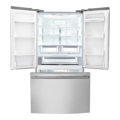 counter depth french door refrigerator with iq touch controls stainless steel - Non Stainless Steel Appliances
