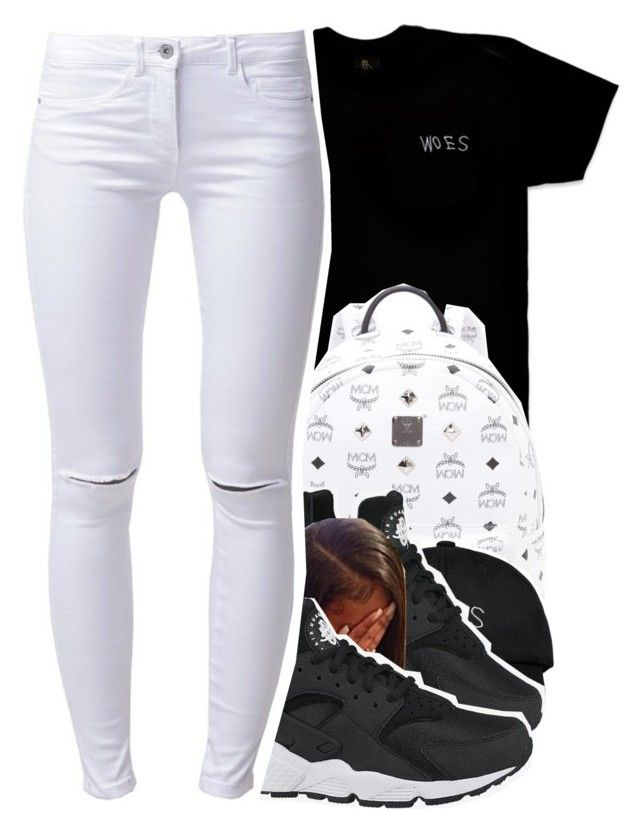 """""""204"""" by xbambiix ❤ liked on Polyvore featuring October's Very Own, MCM, NIKE and ONLY"""