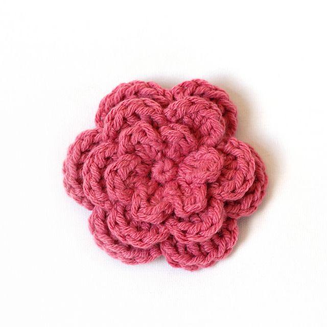 Ravelry Three Layer Flower Pattern By Mary Englar Crochet
