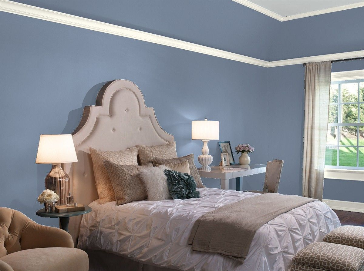 Our Favorite Blue Bedroom Paint Colors By Benjamin Moore Grey