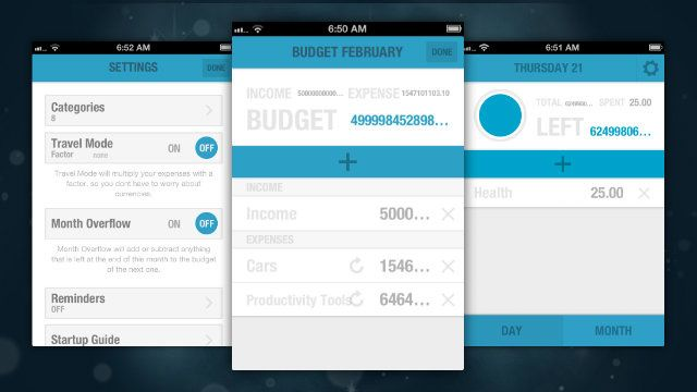 BUDGT Is a Simple Budget-Tracking App that Easily and Quickly - budget spreadsheet app