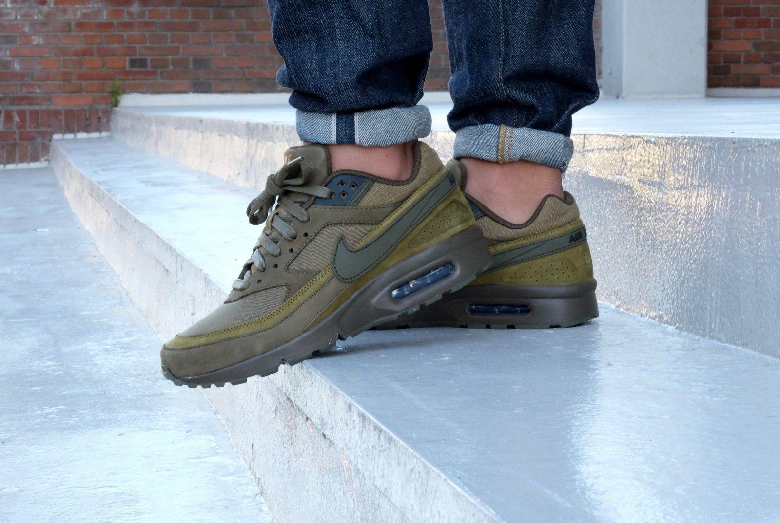 size 40 767de 027ec ... Nike Air max BW Premium Dark Loden-Olive Flak - 819523-300 ...