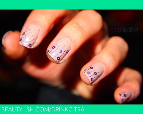 Nude Flowers | Traci S.'s (drinkcitra) Nails Gallery | Beautylish