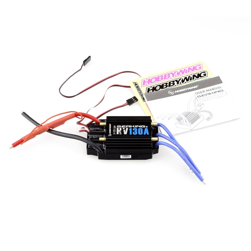 148.80$  Buy now - http://alijto.worldwells.pw/go.php?t=32760343825 - 1pcs New HobbyWing SeaKing V3 130A BL Motor ESC HV 6V/5A BEC for RC R/c Racing Boat 148.80$