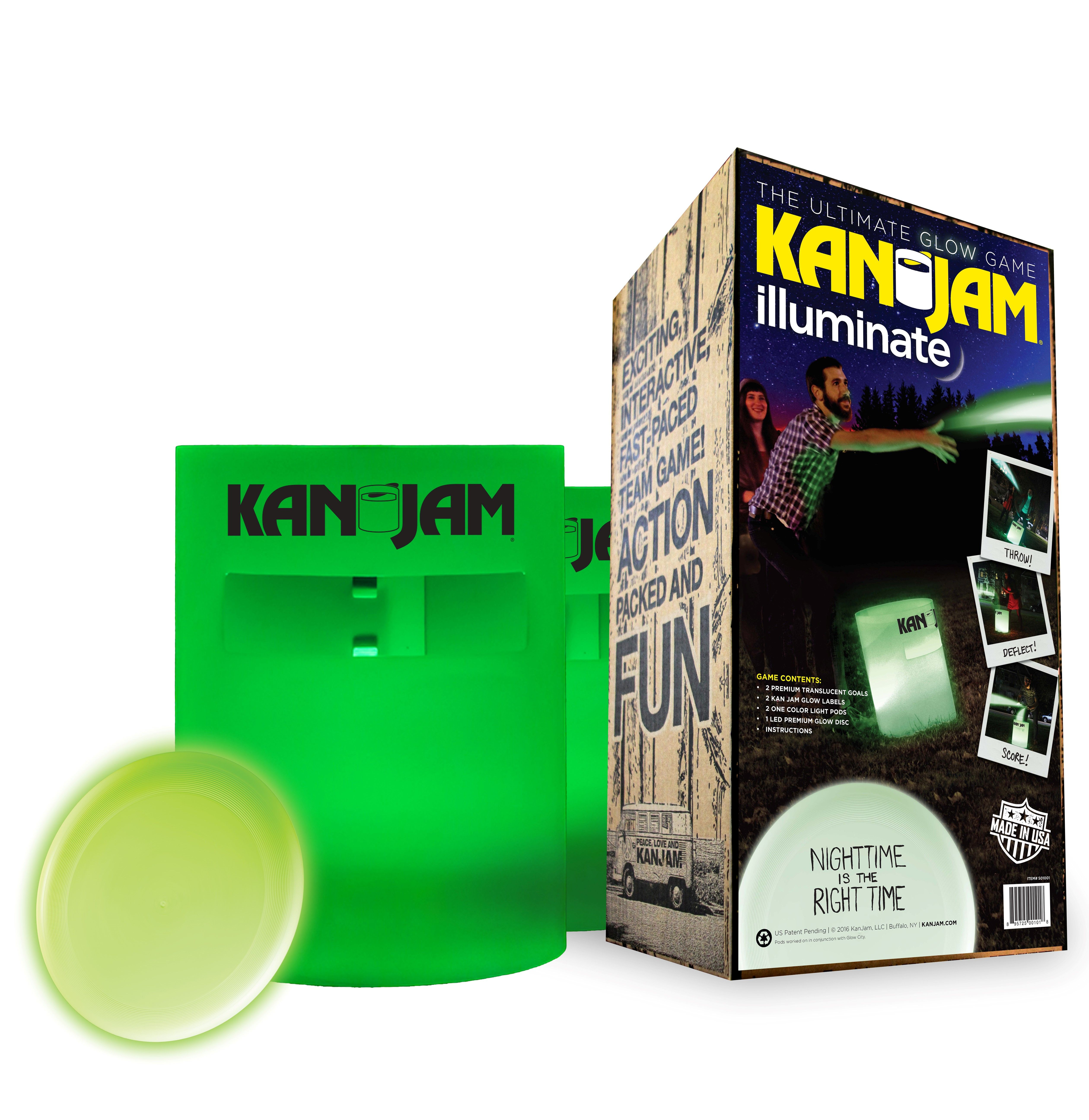 Can Kan Jam Outdoor Ultimate Disc Game Family Portable Fun Event Sports Good USA