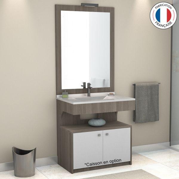 Meuble simple vasque PMR ALTÉA - 90 cm Idées pour la maison