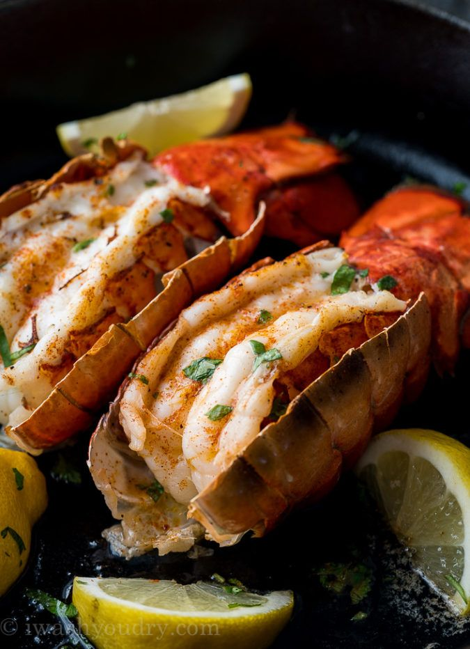 Easy Broiled Lobster Tail | Recipe | Lobster recipes tail ...