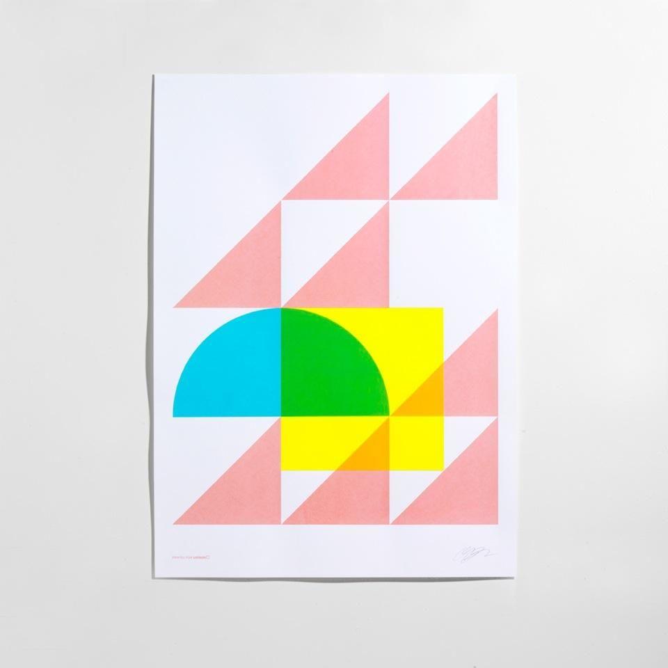 Geometry Pastel Print