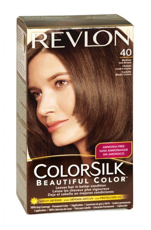 Revlon Colorsilk Hair Colour 40 Medium Ash Brown