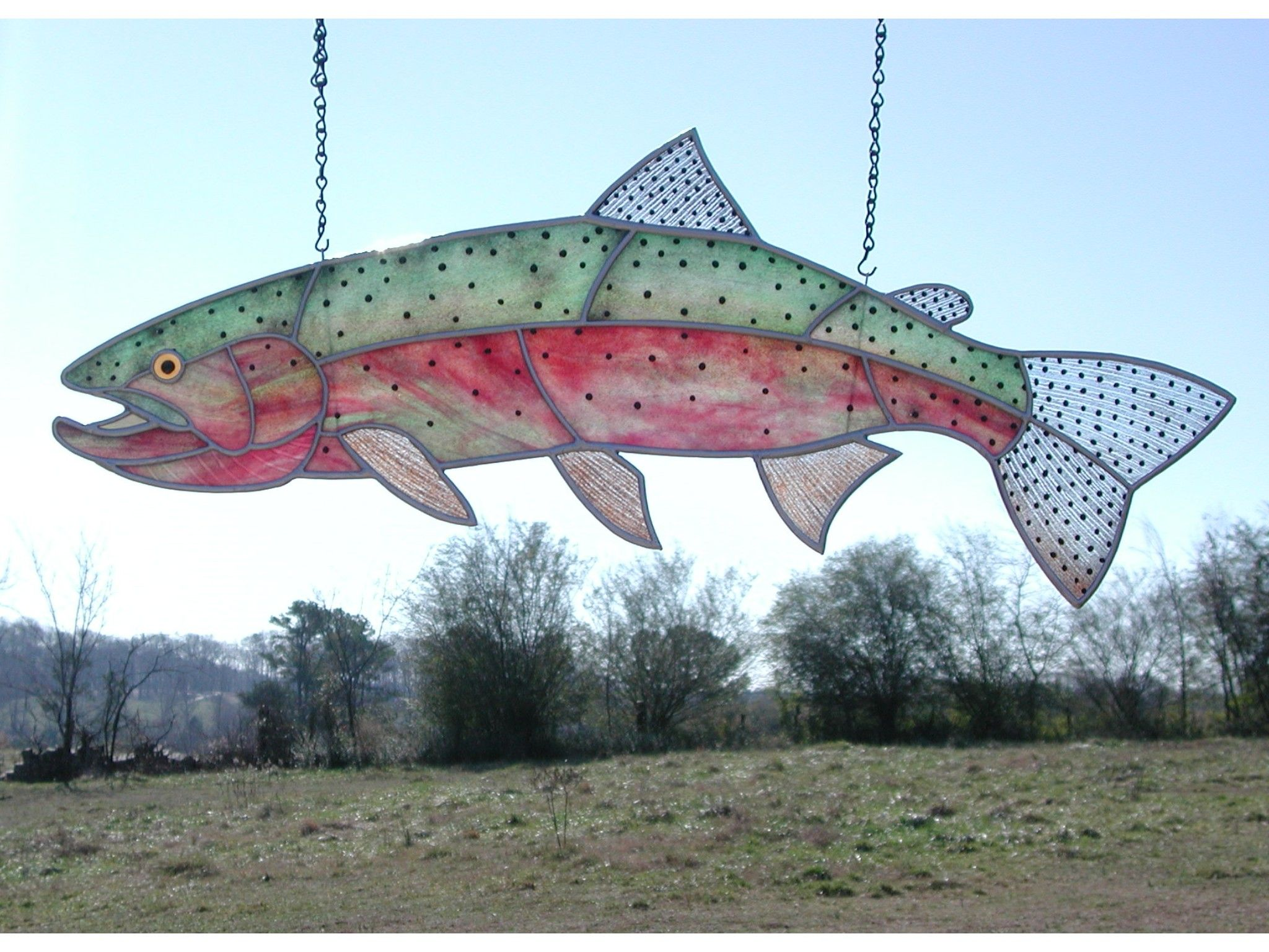 Fish costume sewing pattern fish patterns find the for Stained glass fish patterns