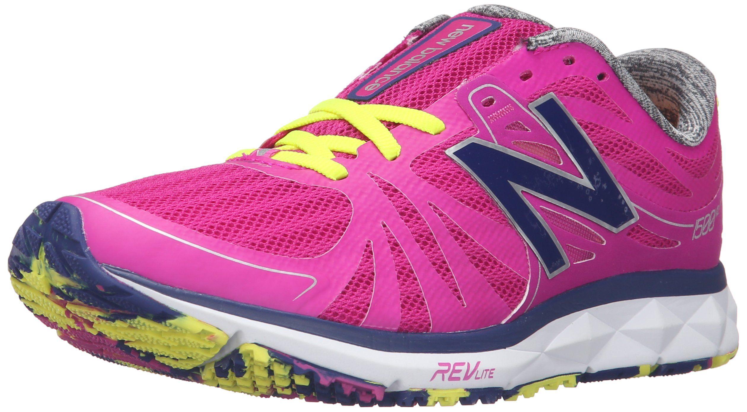 New Balance Women's W1500v2 Running Shoe, PinkWhite, 10 D