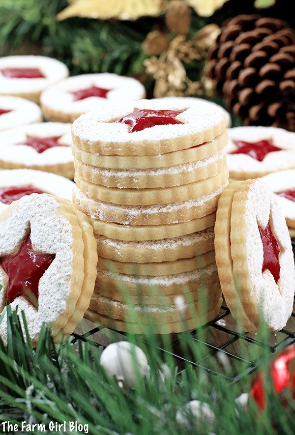 A super easy cookie recipe that will make your taste buds dance Crunchy at first before theyre assembled but soften once they absorb the jam filling Either way they are s...