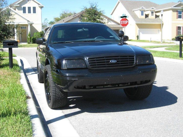 A Very Tough Looking Crown Vic Custom Headlights 1999 Ford Crown Victoria Windermere Fl