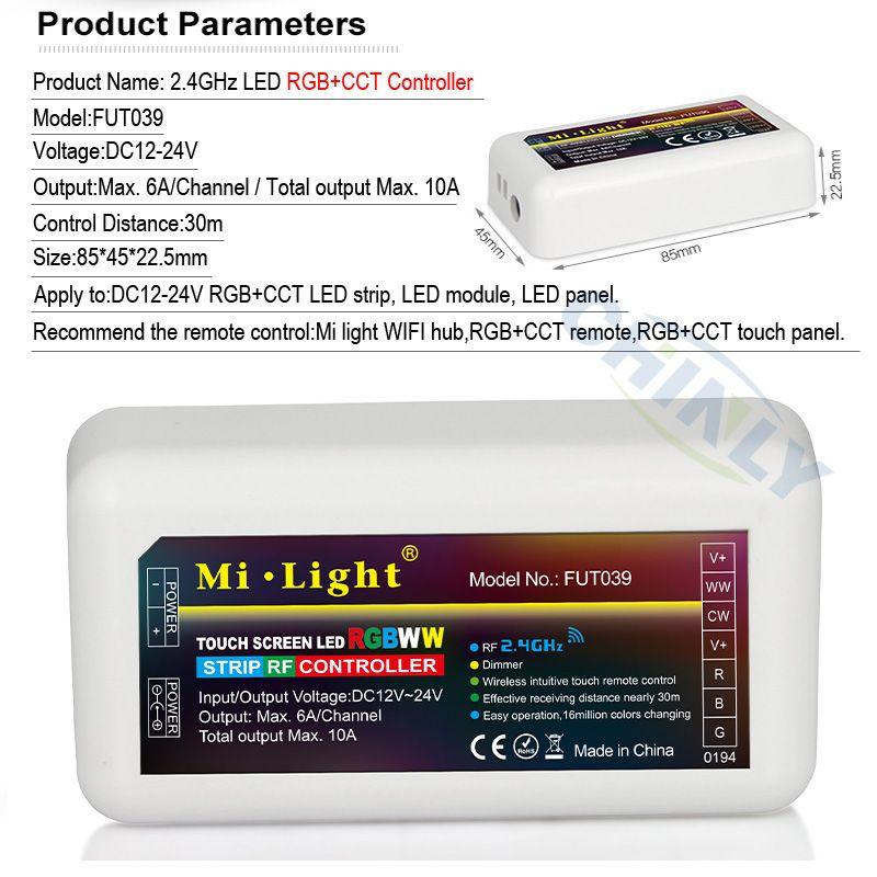new style 4c954 e8d35 Mi Light 2.4G RGB/RGBW/RGB+CCT/Single color/CCT LED ...