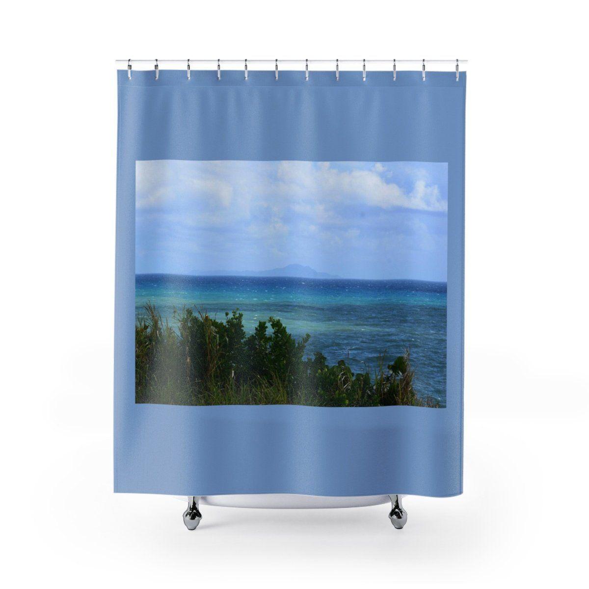 Best Unique Shower Curtains Rocky Beach And Coast In Palmas De
