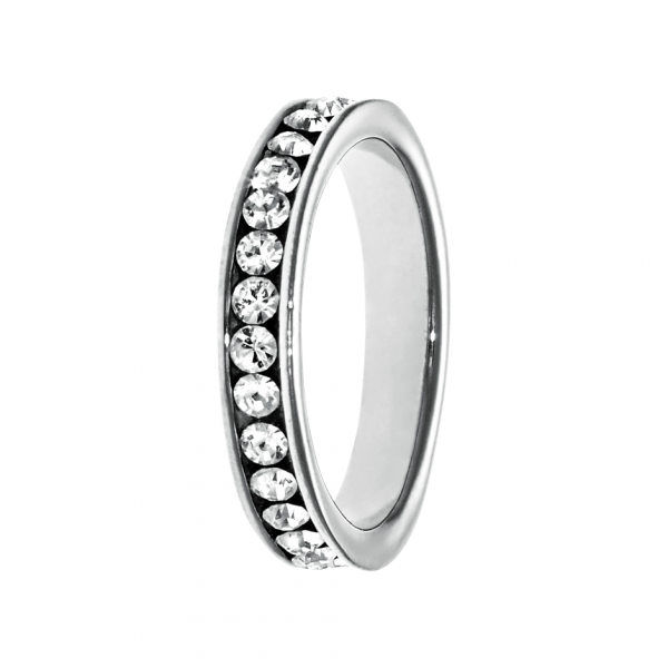 Memory Ring Amsterdam in superfine platinum encricled with diamonds