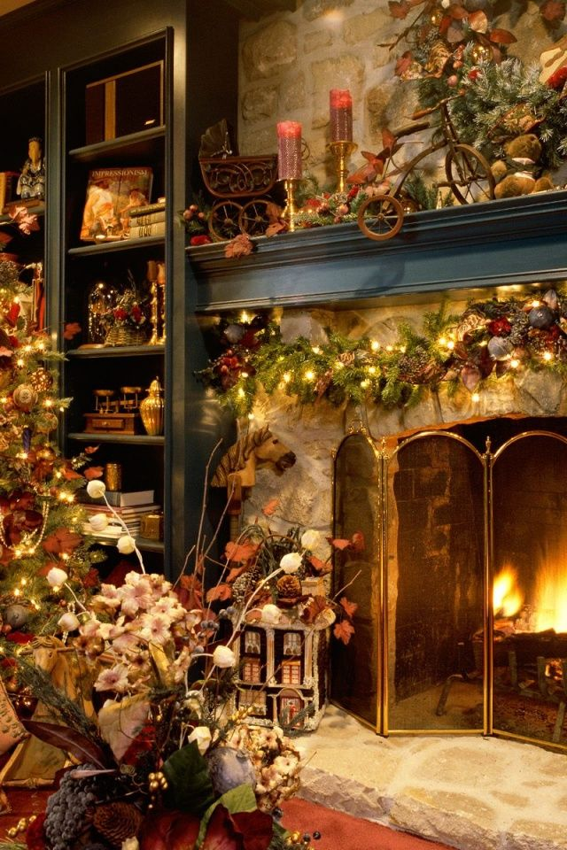 Beautiful Christmas room Wallpaper Pinterest Christmas room