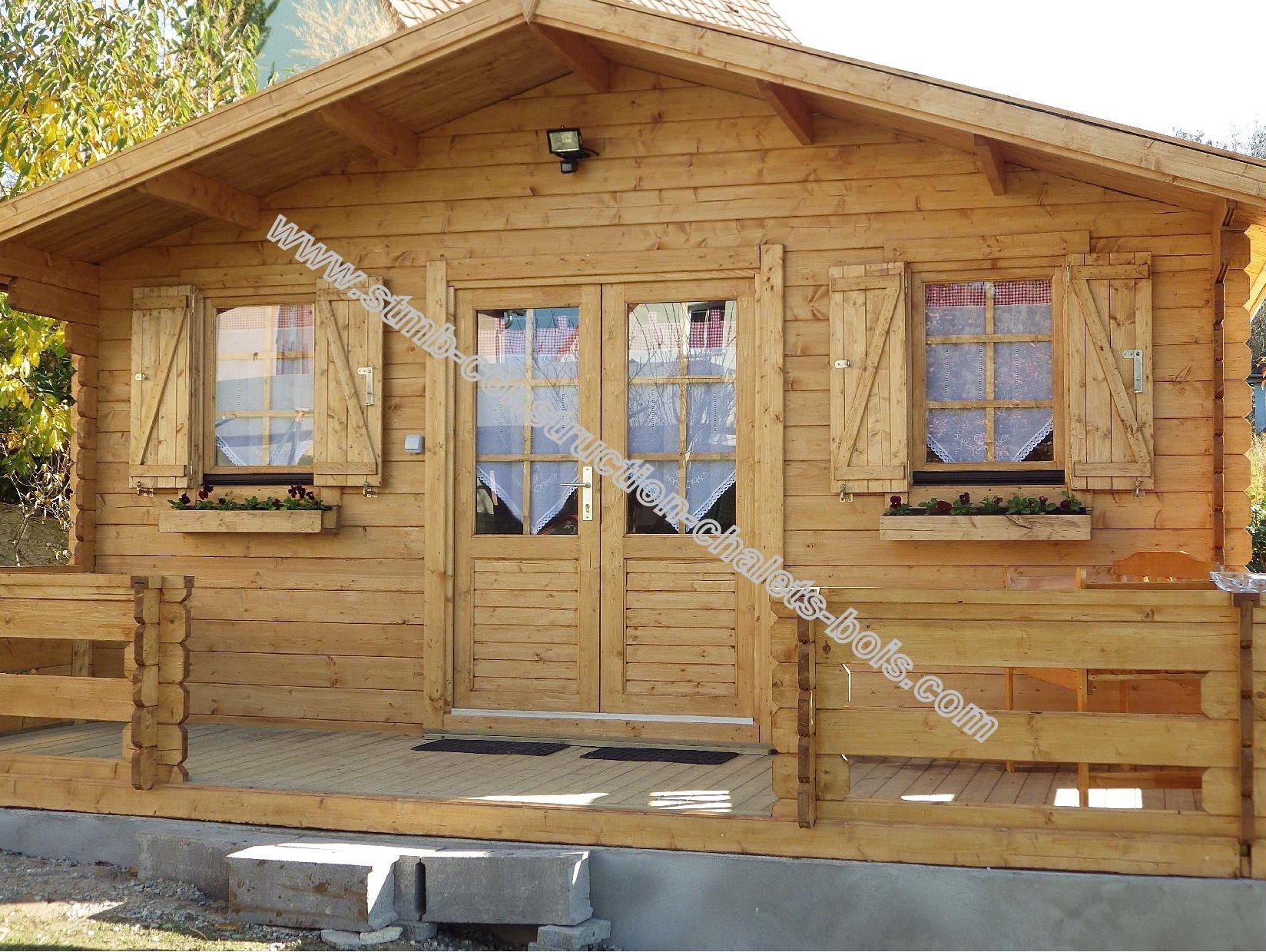 Cabane De Jardin 20m2 Stmb Construction Chalets Bois Com Cabane Jardin Maison Bois Chalet De Jardin