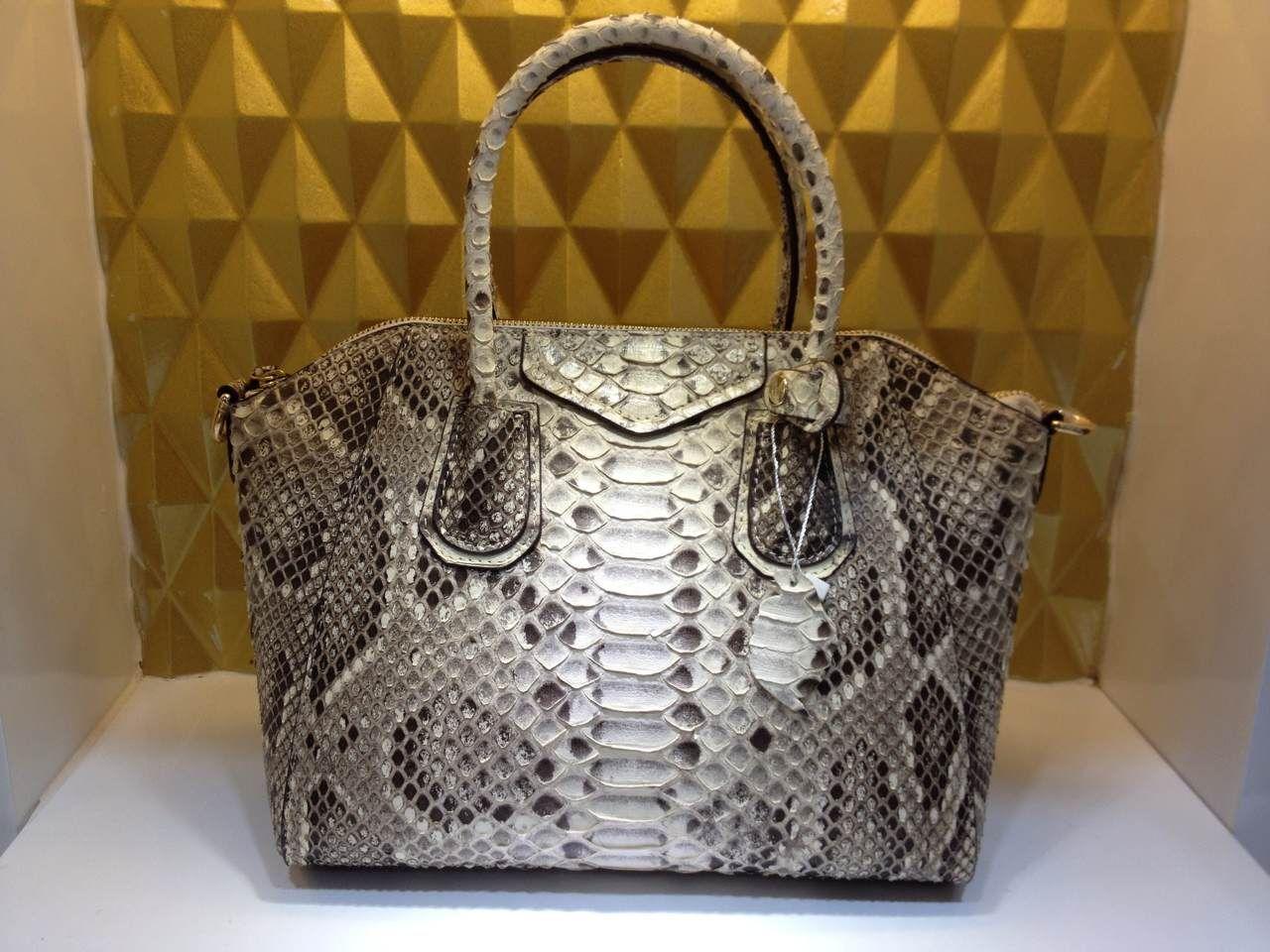 Python Skin Bags