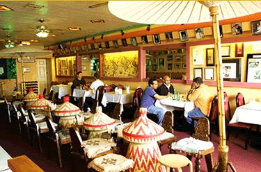 Messob Ethiopian Restaurant In La Vegetarian Platter Is So