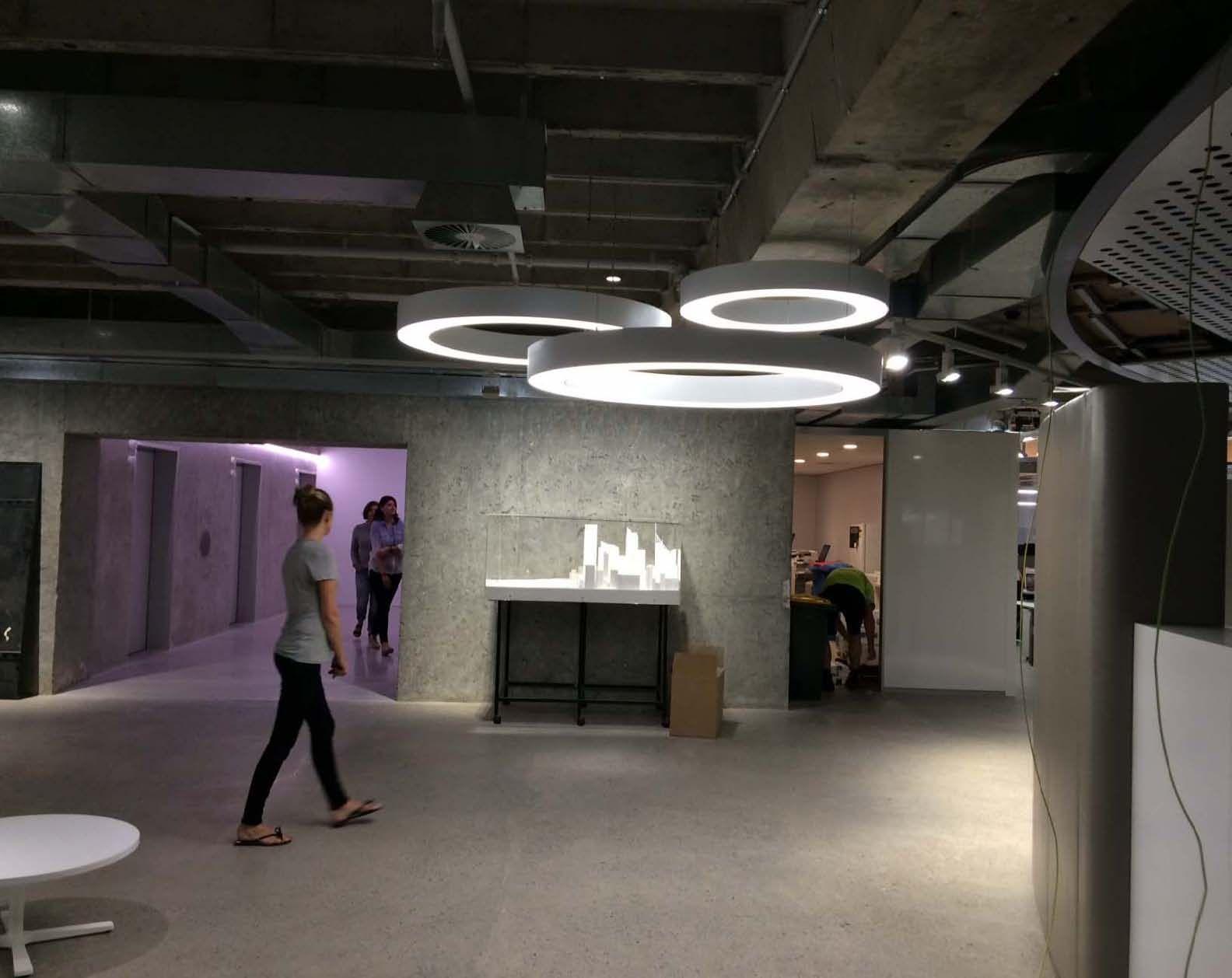 Prolicht Glorious Fittings Looking Sensational In Architectus Sydney Office Wwwladgroupcom