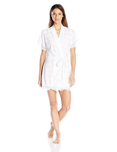 In Bloom by Jonquil Womens Lucky Girl Wrap White Small >>> You can find out more details at the link of the image.