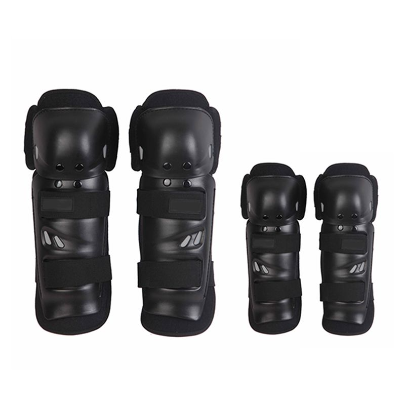 4pcs Kit Sports Adult Elbow Knee Shin Armor Gear Guard Pads