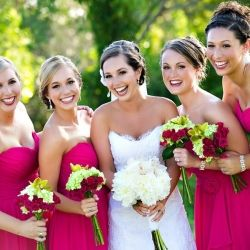 Bright colors, happiness, and fabulous photography in this elegant Florida wedding!