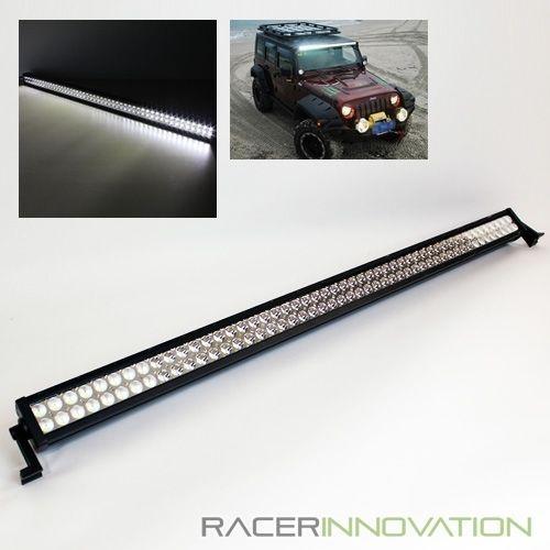 52 inch 300w off road spotflood 100 led light bar jeep4x4 roof 52 inch 300w off road spotflood 100 led light bar jeep4x4 roof rack work lamp aloadofball Gallery