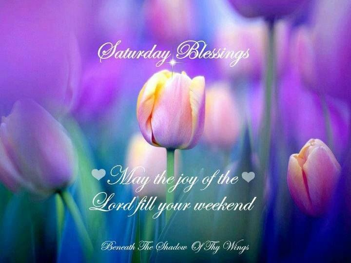 Saturday Blessings: May The Joy Of The Lord Fill Your Weekend   U2020 Blessings  Quotes And Christian Sayings U2020