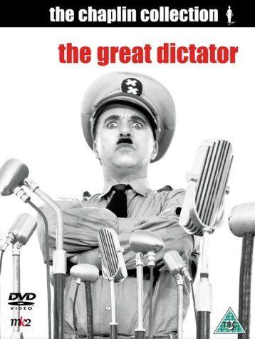 Charlie Chaplin - Great Dictator DVD, ktoré sa hádam ani nedá zohnať, ktovie prečo ...