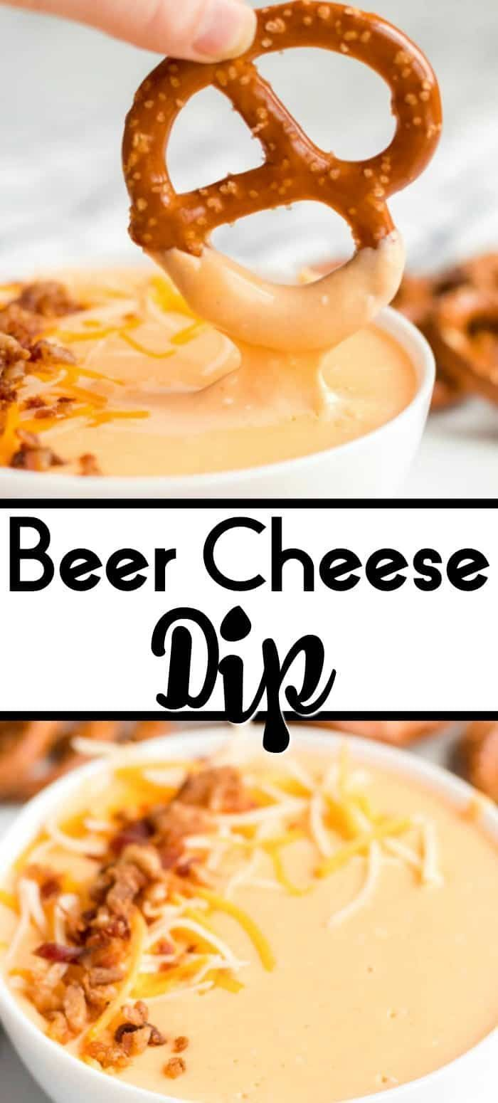 Beer Cheese Dip is a super easy and delicious dip to make for any occasion. Quick to make (only 15 minutes tops!) The perfect party food appetizer for dipping pretzels, carrots, broccoli, tortillas, bread and more! #best #recipe #easy #forpretzels #beer #pub #pubstyle #cheese #diprecipe #hot #cold #crockpot #crockpot recipe dip Beer Cheese Dip - 15 Minutes prep! Great with pretzels, bread & more!