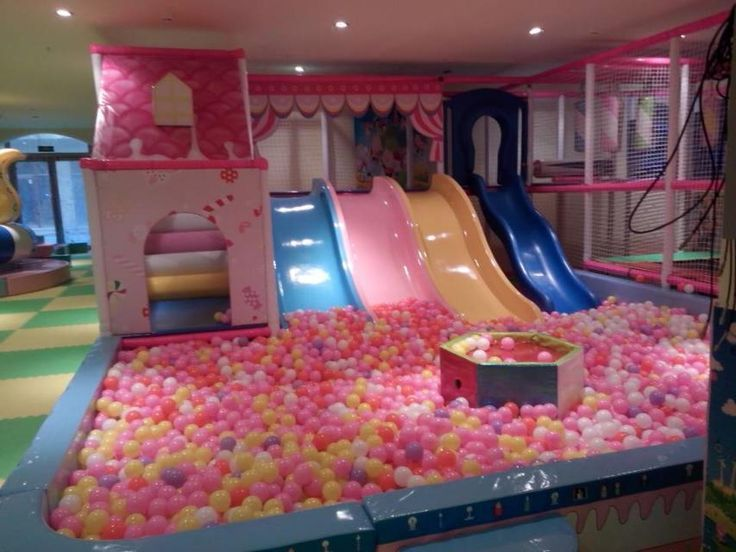 Children Soft Play Foam Ball Pool Indoor Playground For