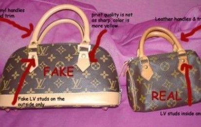 Louis Vuitton originale | Come capire se una borsa Louis ...