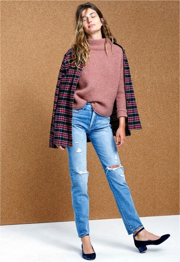 plaid-and-denim-outfit-combinations-when-you-are-out-of-options-7