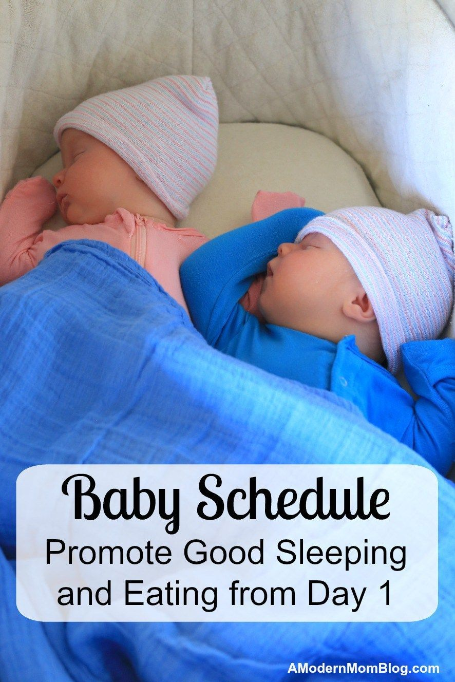 abd68162637a baby schedule to get your twin babies sleeping through the night by ...