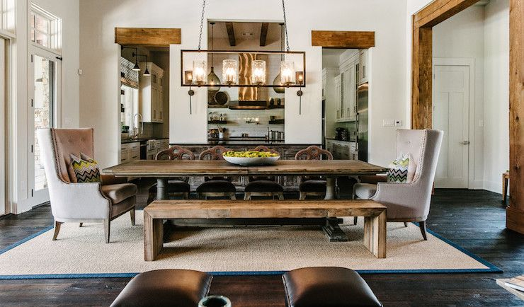 online store 08a7b db226 Beautiful dining room with Currey and Co. Longhope ...