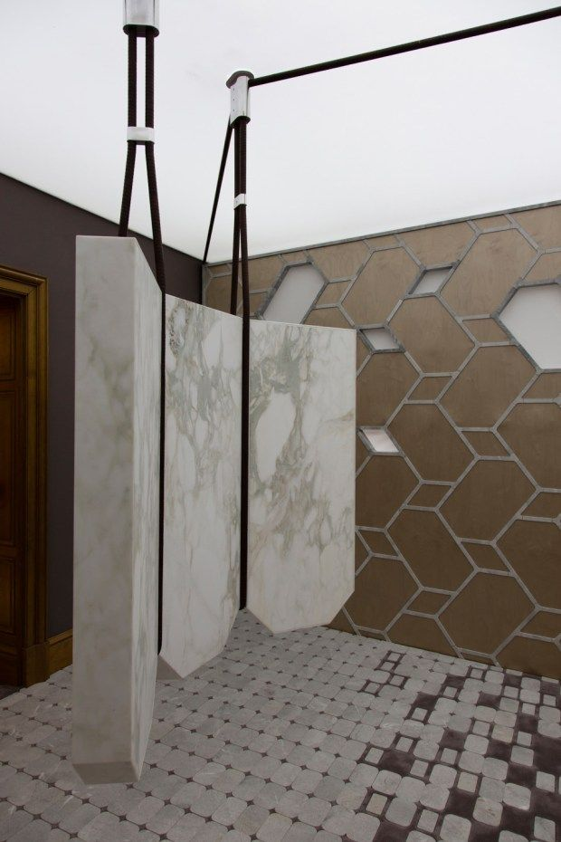 The Visionary Office By Ramy Fischler Marble Audio System Top