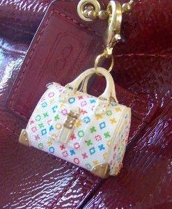 Miniature Designer Purse Bag Charm Review At Kaboodle Barbie Miniatures Mini Bags Keychains