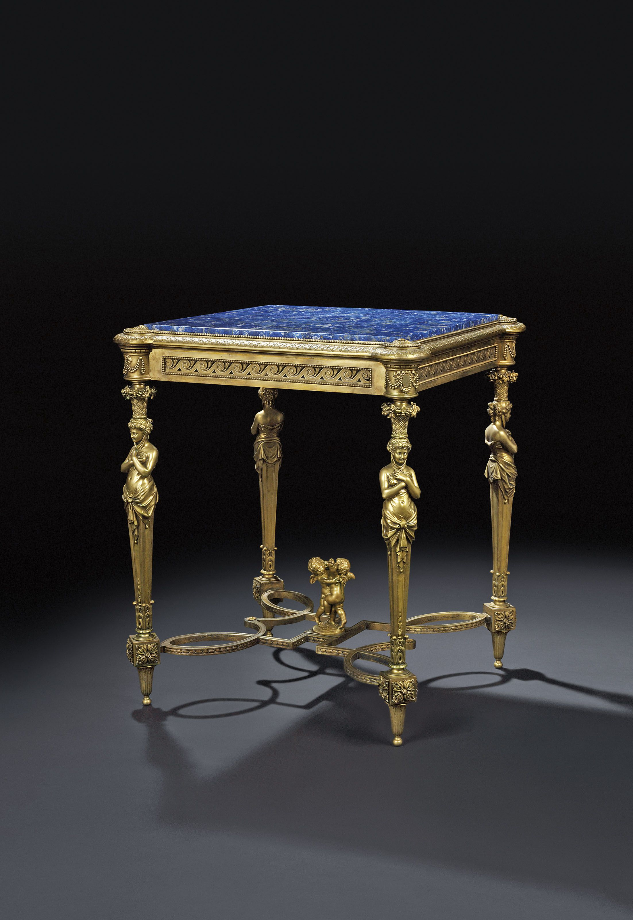 French Ormolu Gueridon In The Manner