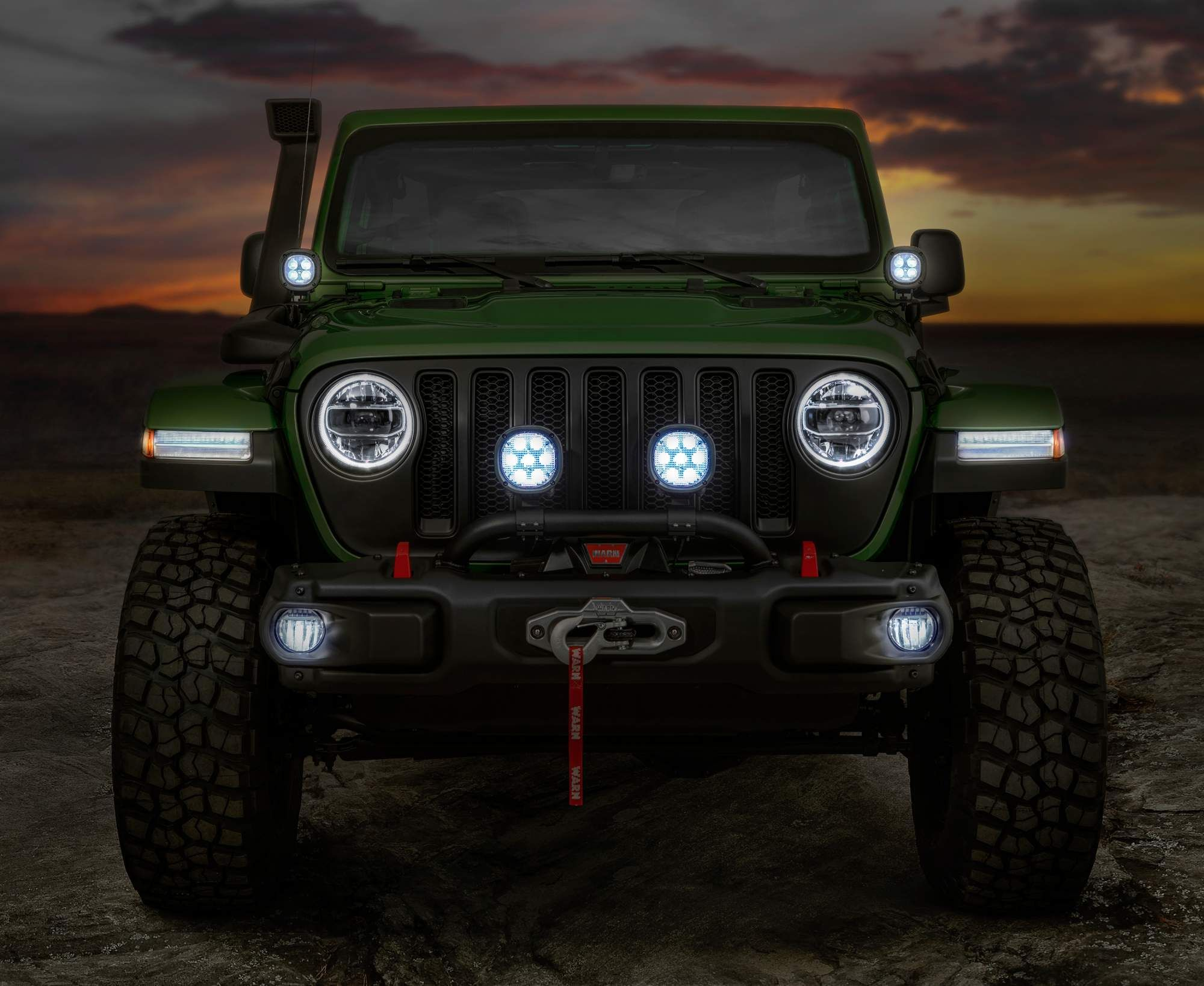 Mopar Accessories Turn 2018 Jeep Wrangler Into Extreme Off Roader