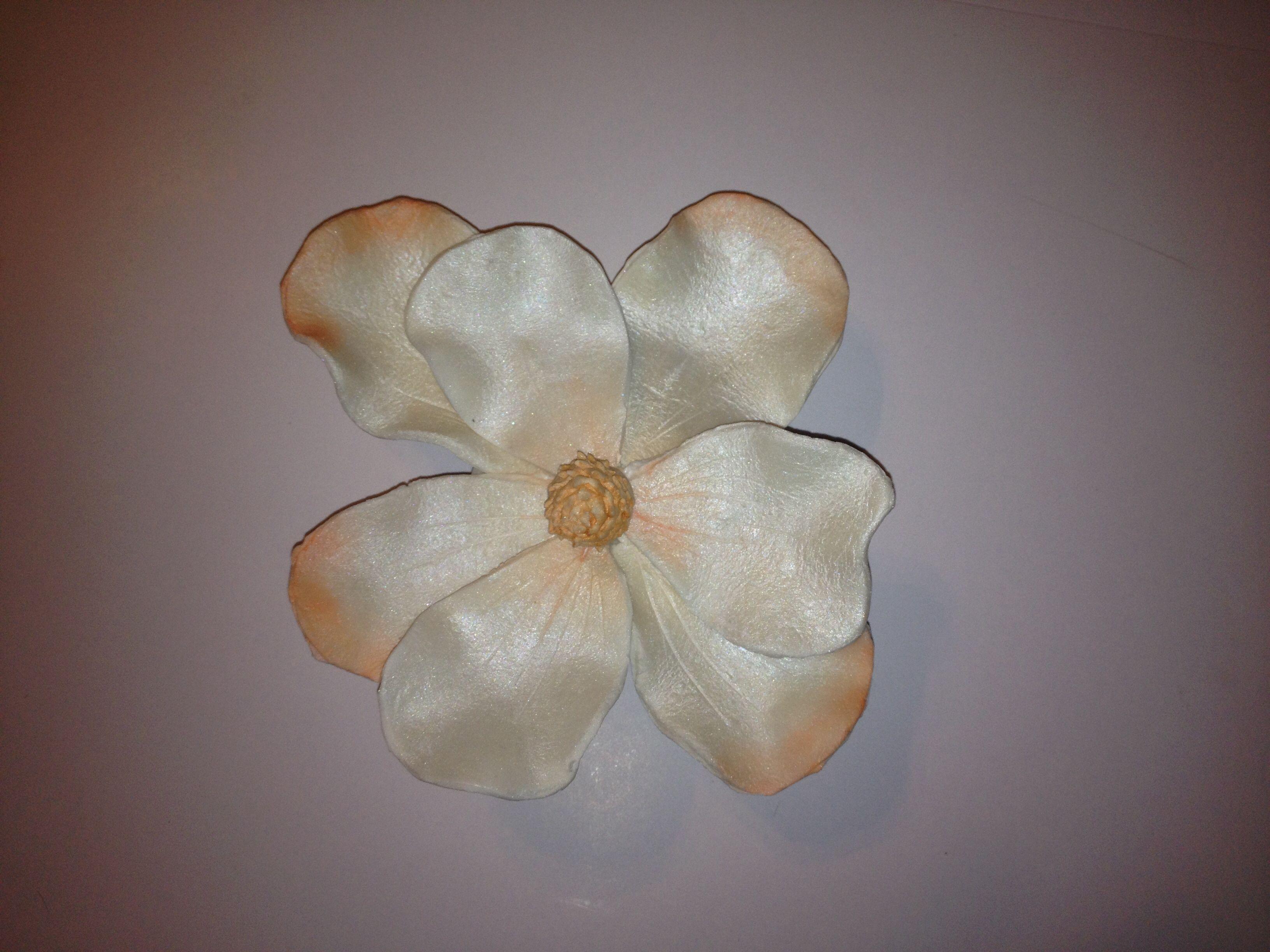My first gum paste flower!!!