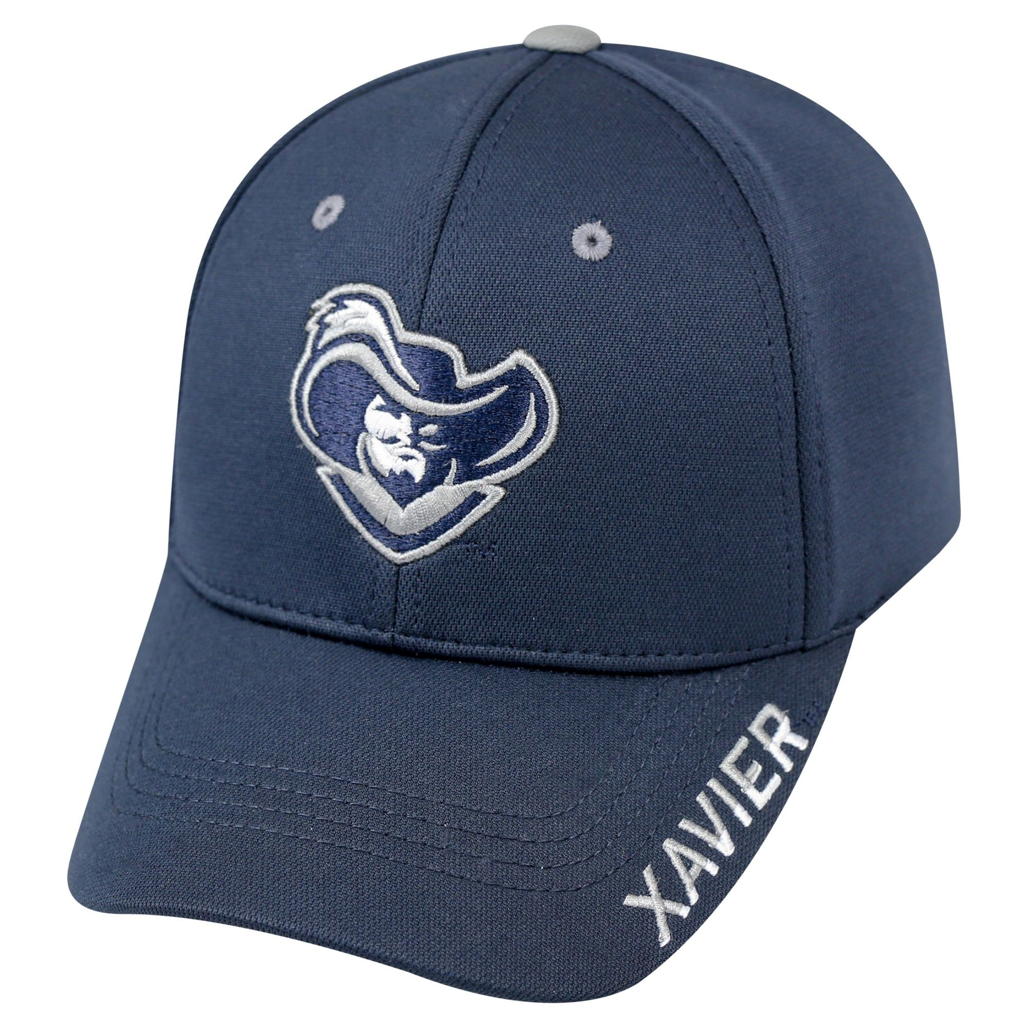 size 40 603a3 e59ca ... discount code for ncaa baseball hats xavier musketeers black mens 546c7  429f5