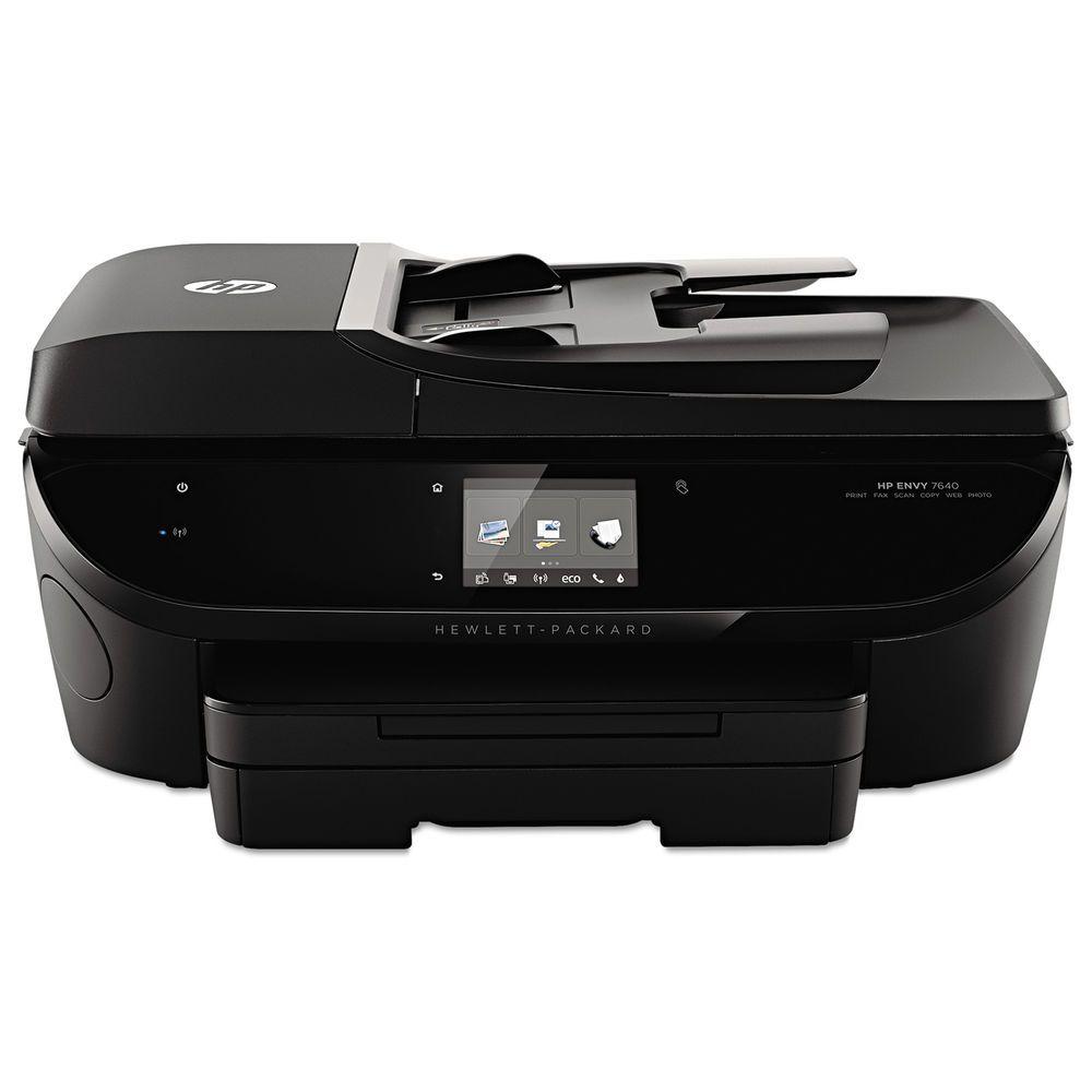 Hp envy 7640 wireless allinone color inkjet printer