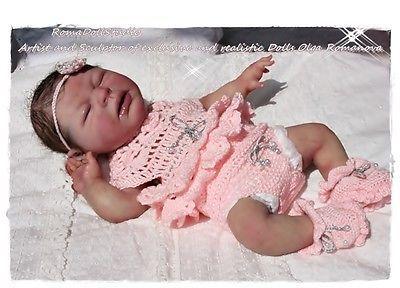 Full Body  Silicone baby doll  by Olga Romanova