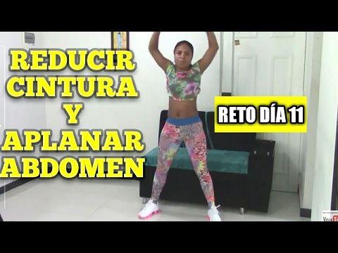 ejercicio para reducir cintura y aplanar abdomen