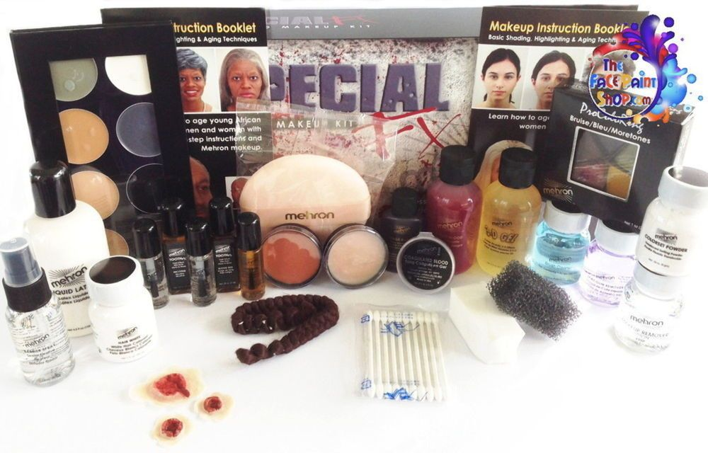 Mehron Special Fx All Pro Sfx Make Up Kit Ebay Link Makeup Kit Mehron Makeup Supplies